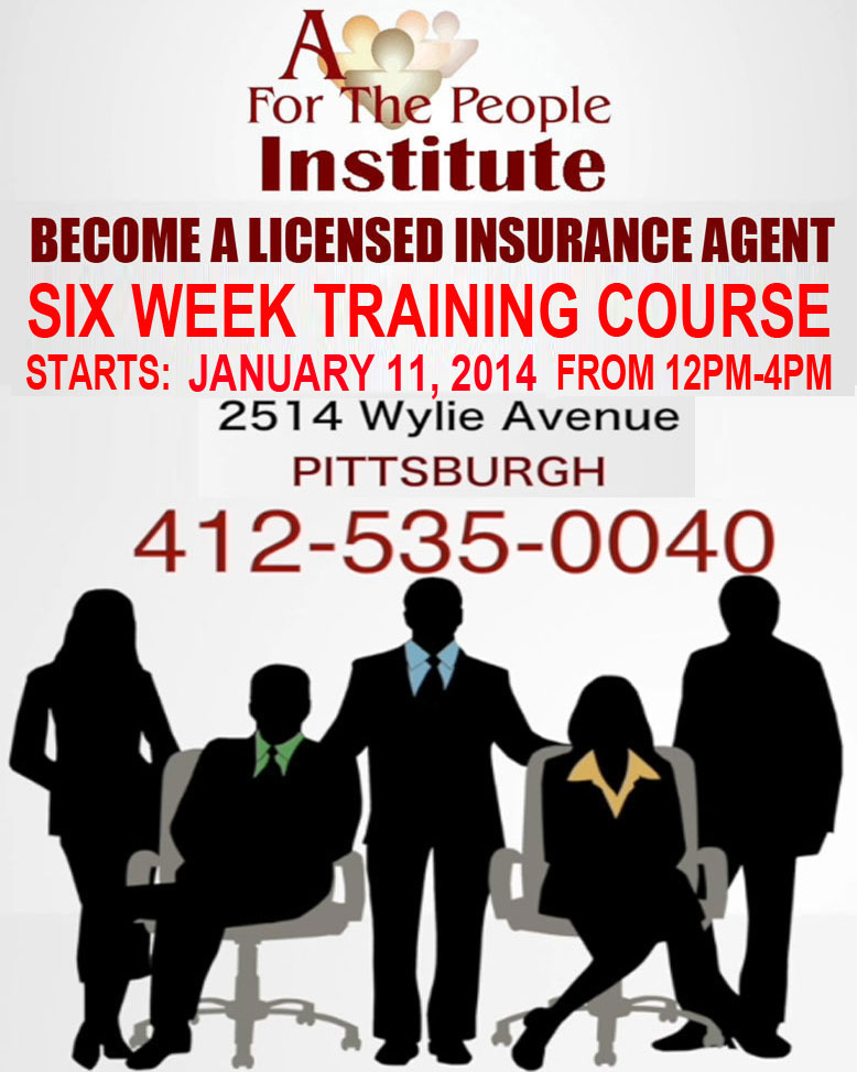 BECOME A LICENSED INSURANCE AGENT - SIX WEEK TRAINING ...