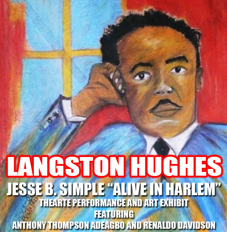 dinner guest me langston huges Langston hughes was born in joplin, missouri, in 1902 after graduation from high school, he spent a year in mexico with his father, then a year studying at columbia university his first poem in a nationally known magazine was the negro speaks of rivers, which appeared in crisis in 1921.