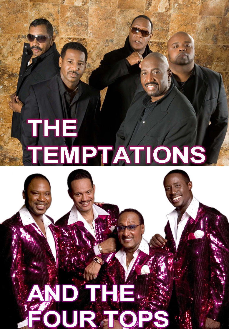 temptations and four tops concert 